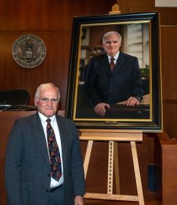 Magistrate Judge Dennis Hubel. Photo courtesy of Stephen Joncus